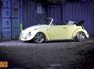 Le Bug on its Volksworld VW Mag photo shoot
